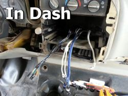 Installing In Dash Monitor
