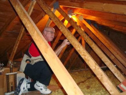 Bluegrass Technologies Corp - Working on an Attic