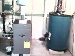 Affordable Heating and Air Conditioning - Water Heater installation