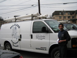 All Clear Plumbing - company truck