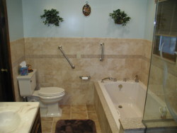 Convenient Kitchen and Bath Design - Bathroom Remodel Job