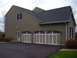 Greene Overhead Door - 3 Door Car Garage