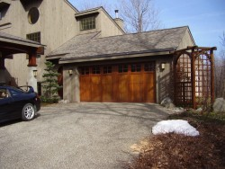 Greene Overhead Door - New Wood Garage Door