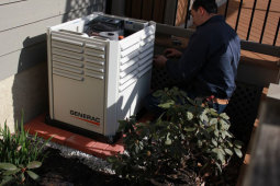 All Star Electrical Services, LLC - Installing generator
