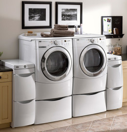 Essential APpliance, Inc.- Washer and Dryer set in a Laundry Room