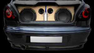 Speakers in a Trunk