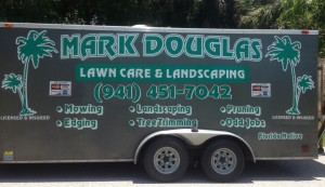 Mark Douglas Lawncare Inc. - Landscaping Truck