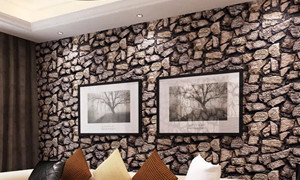 Castle Wallpaper & Blinds - Fake Stone Wallpaper