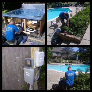 All Star Electrical Services, LLC - Swimming pool and hot tub wiring