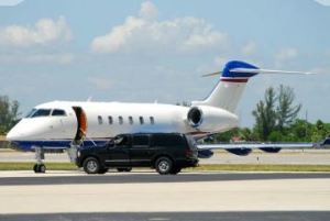 A & J Transportation Service - Car Picking up at the Airport