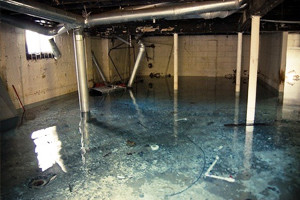 Quality Waterproofing - Flooded Basement