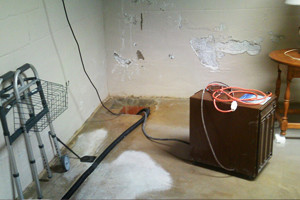 Quality Waterproofing - Drying Wet Basement
