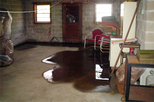 Quality Waterproofing - Wet Basement Floor