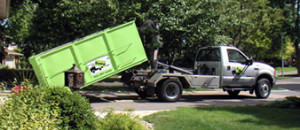 Bin There Dump That - Truck with Dumpster