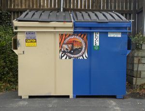 Tiger Sanitation LLC - Split Dumpster