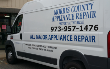 Morris County Appliance Repair - Service Van