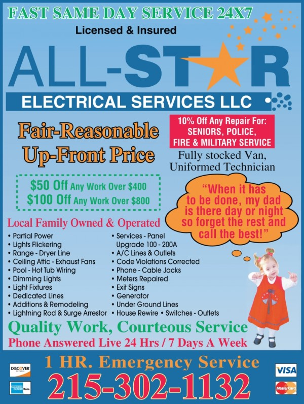 All-Star Electrical Discounts