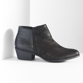 Simply vera vera wang ankle boots