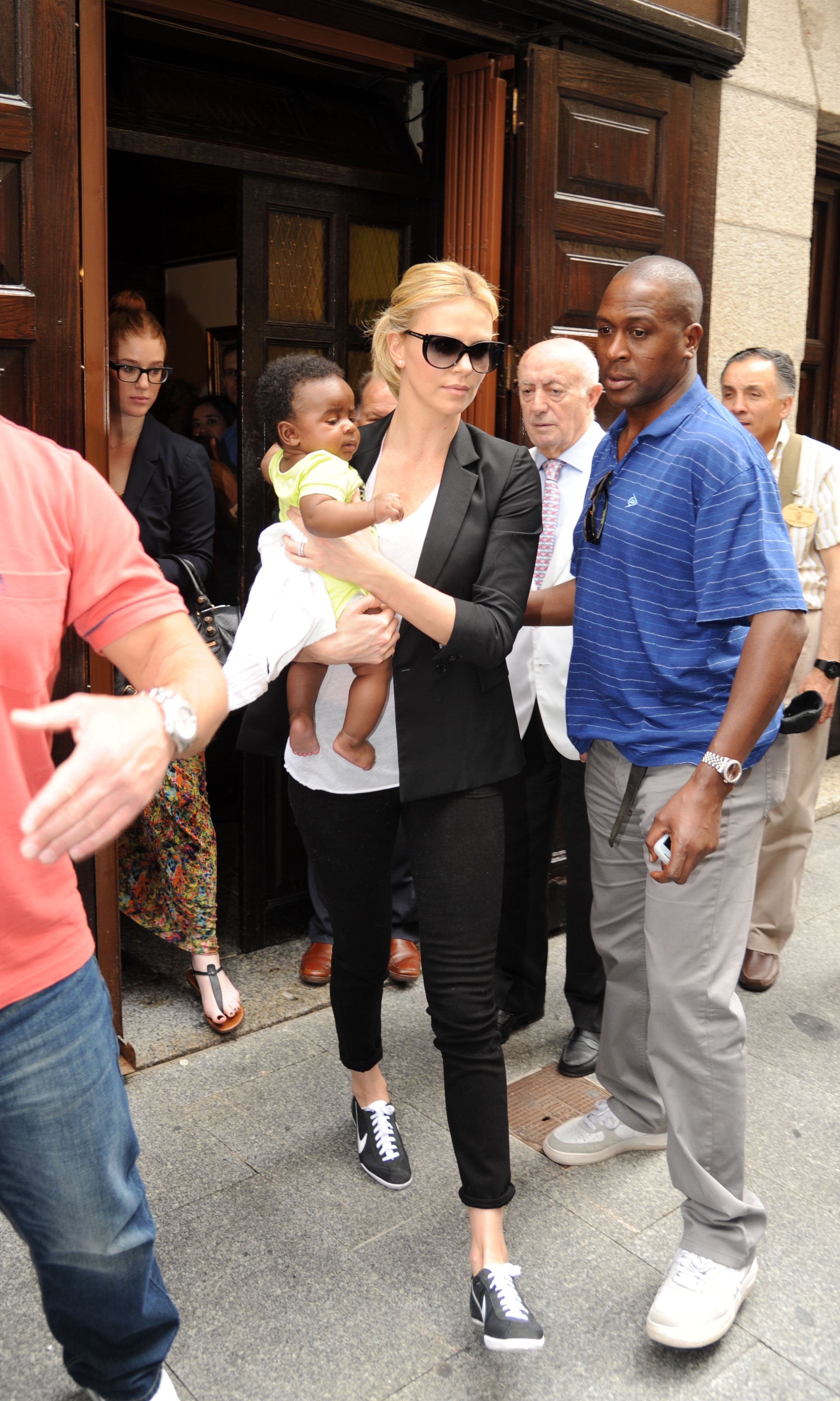 Why do celebrities adopt black babies