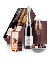 Lenoble Blanc de Blancs & Godiva Chocolates Gift Box