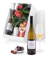 Valcombe White Wine & the Flamingo flower