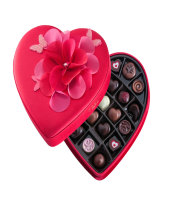 Godiva Medium Fabric Heart 23 chocolates