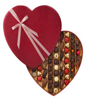 Neuhaus Luxury Leather Heart Box