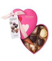 Neuhaus Assorted Chocolate Pink 3D Heart