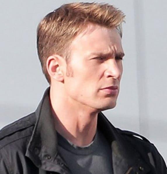 chris evans Haircut 2018