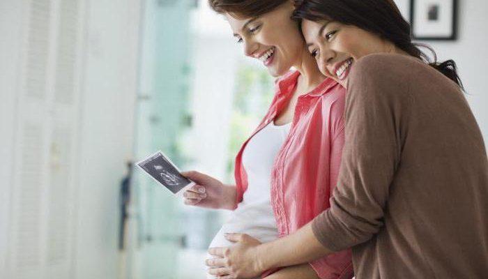 Можно ли беременным гладить свой живот