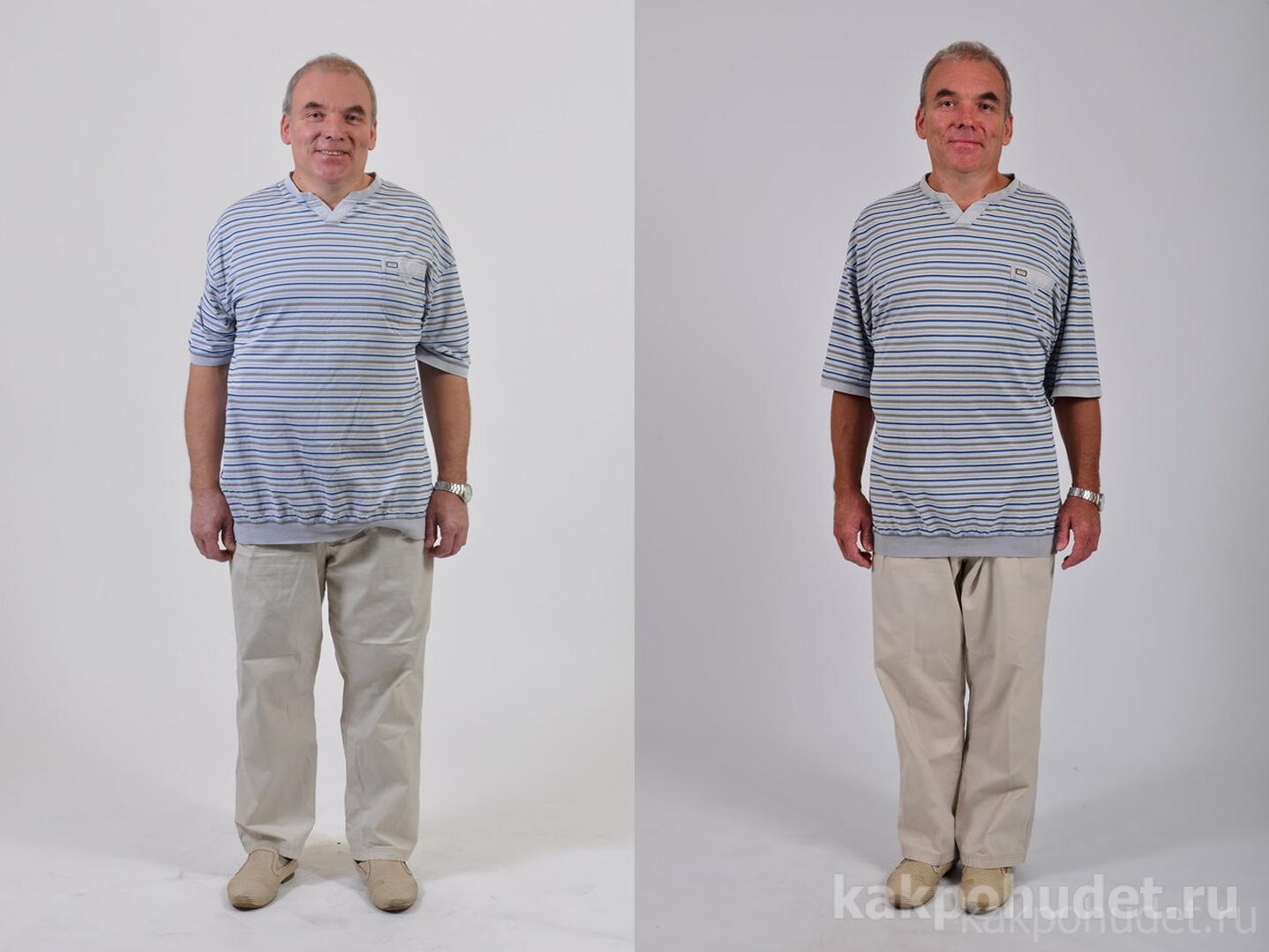 Минус 43 кг: он сам не ожидал такого результата!