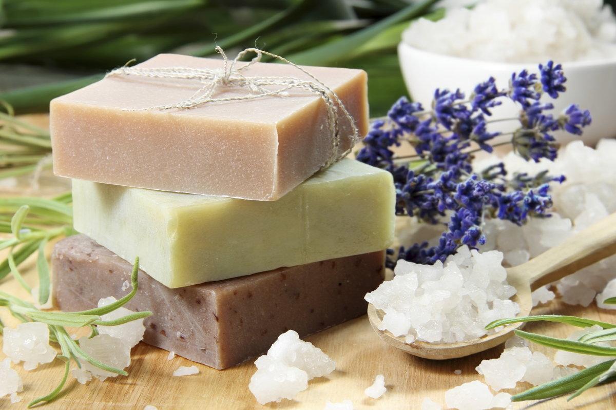Натуральное мыло в домашних условиях