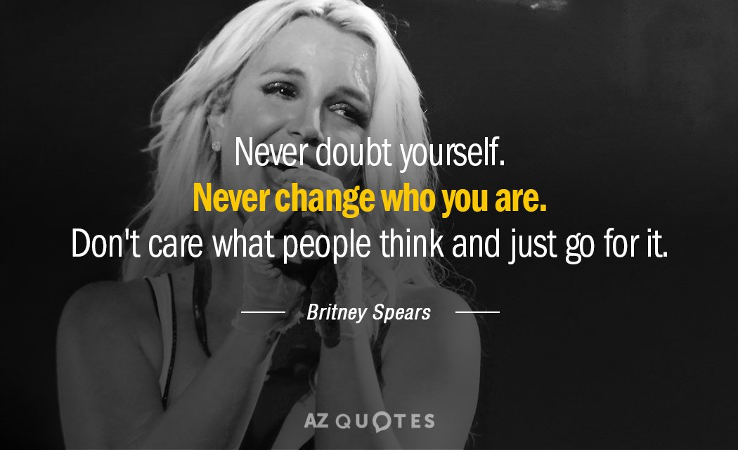 Britney spears qoutes