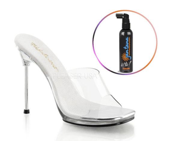 Набор из грима Jan Tana Ultra1 и туфель для фитнес-бикини CHIC01/C/M