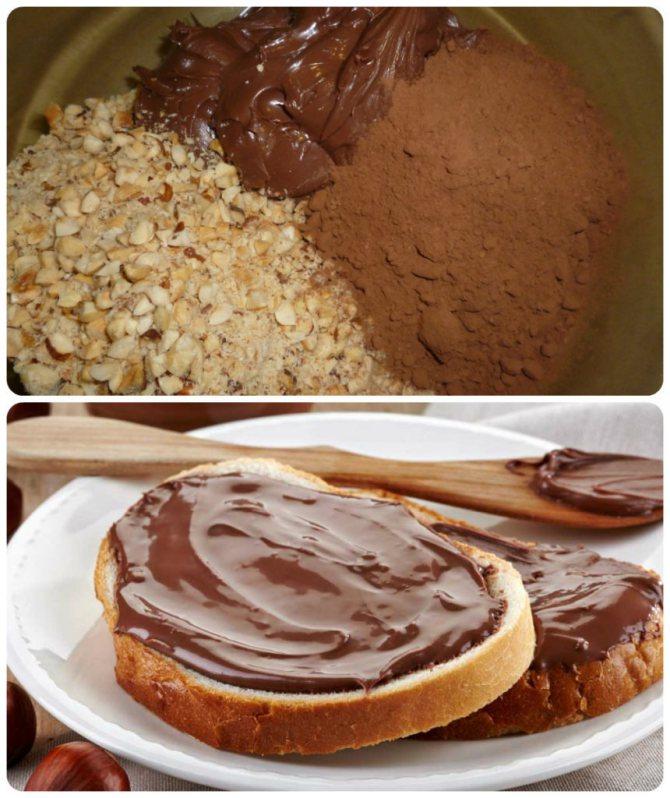 Как сделать шоколадную пасту?