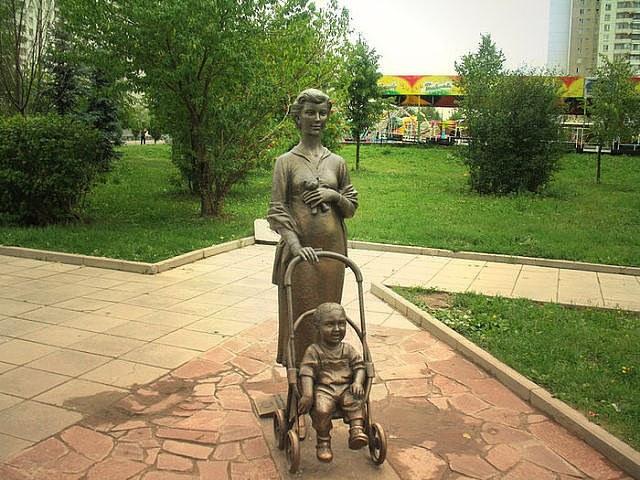 Памятник из чего сделан