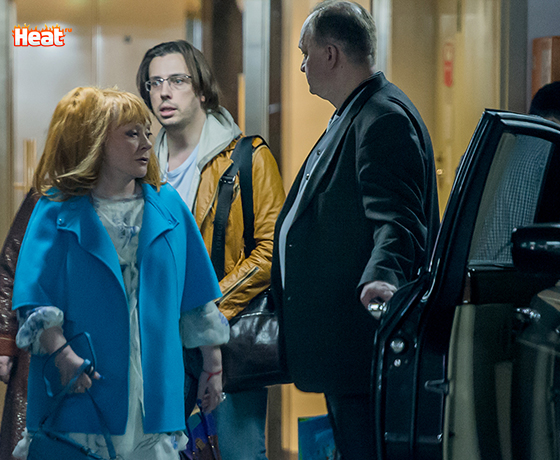 Пугачева приехала на праздник внучки с мужем Максимом Галкиным