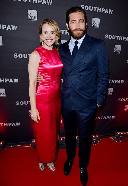 """Рейчел МакАдамс и Джейк Джилленхол на премьере """"Левши"""" в Торонто"""