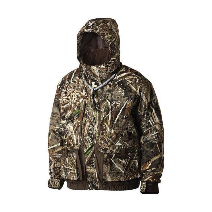 Drake lst 4 in 1 wader hunting jacket