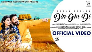Latest Punjabi Video Din Gin Di - Sabhi Basuta Download