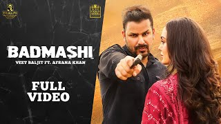 Latest Punjabi Video Badmashi - Veet Baljit - Afsana Khan Download