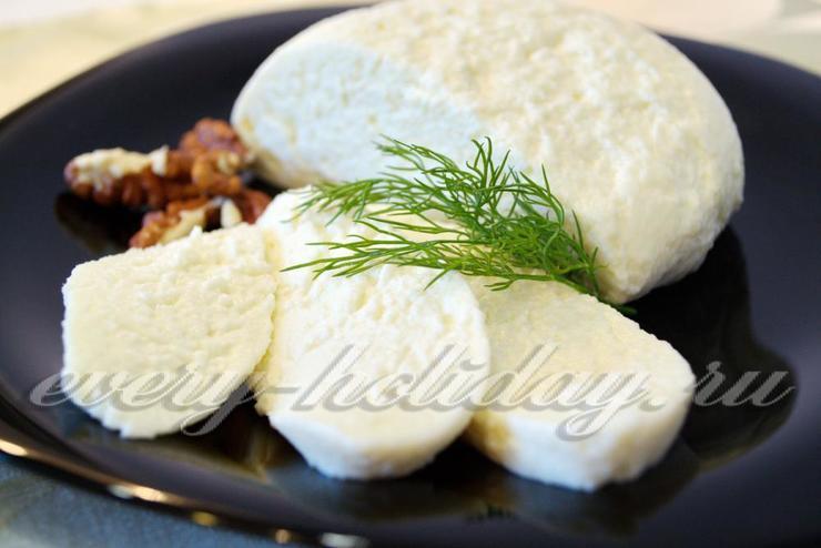 Сыр из молока и уксуса в домашних условиях рецепт с фото пошагово