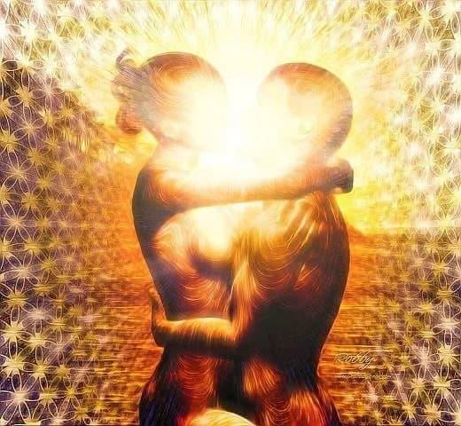 Энергетические каналы между женщиной и мужчиной