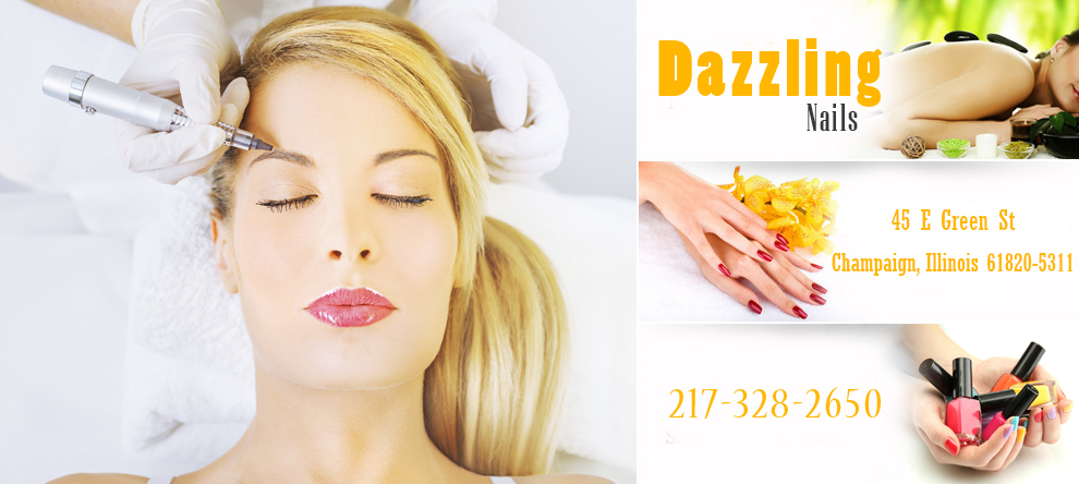 Dazzling nails champaign hours
