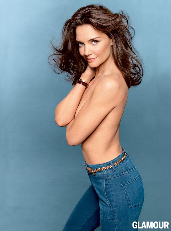 Katie holmes topless