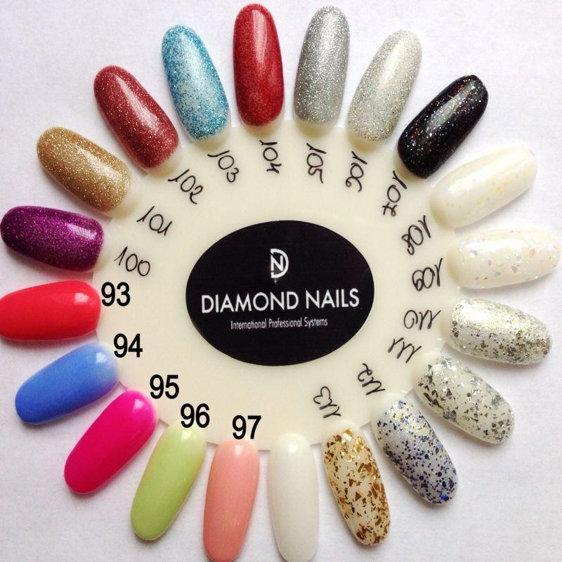 Gel unghii diamond nails