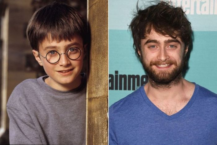 Гарри поттер взрослый фото