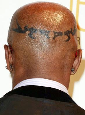 Jamie foxx tatoo