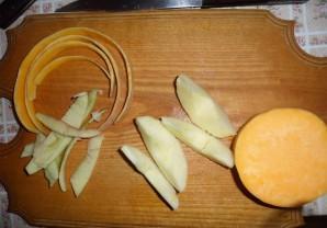 Пюре из тыквы с яблоками