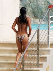 Lost star Michelle Rodriguez gets into character playing Tarzan, while taking a dip in the ocean at Hotel Eden Roc during the Cannes Film Festival. The actress, who must be off her probation, is looking in stellar shape just in time for summer. CR: ENF/Fame Pictures 05/25/2007 --- Michelle Rodriguez --- Restrictions apply: USA ONLY --- --- (C) 2007 Fame Pictures, Inc. - Santa Monica, CA, U.S.A - 310-395-0500 / Sales: Bill Graham - 310-395-0559